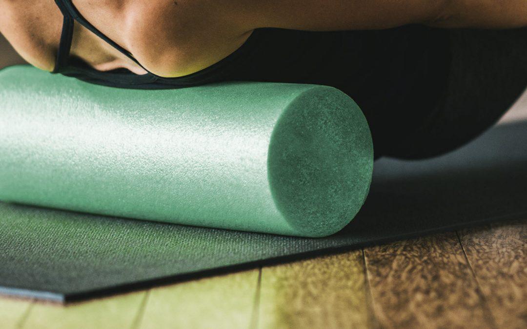 Foam roller for injury prevention
